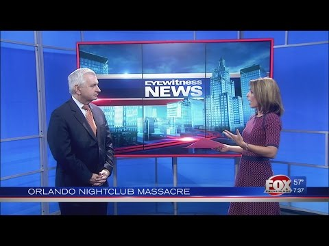 Senator Jack Reed in Studio discusses Orlando Nightclub Massacre