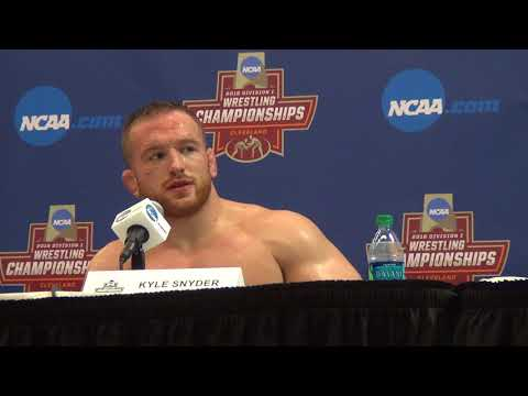 Kyle Snyder of Ohio State advances to NCAA finals at 285