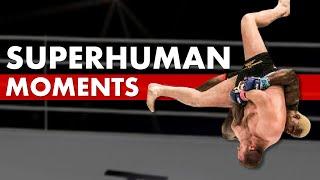 10 Superhuman Moments in MMA