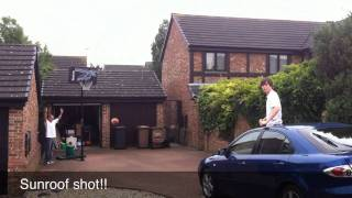 Basketball trick shots 3!! SR