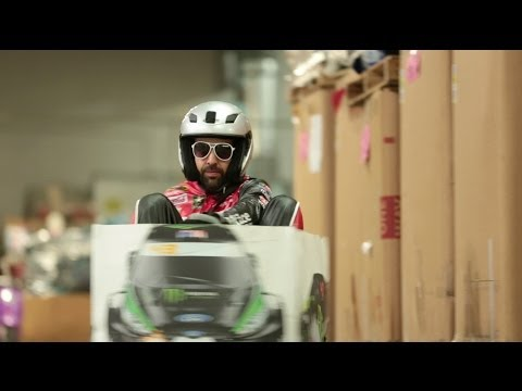 Ken Box: Crazy Cart Gymkhana!  Epic Ken Block Gymkhana Tribute: (a Ken Block Gymkhana parody)