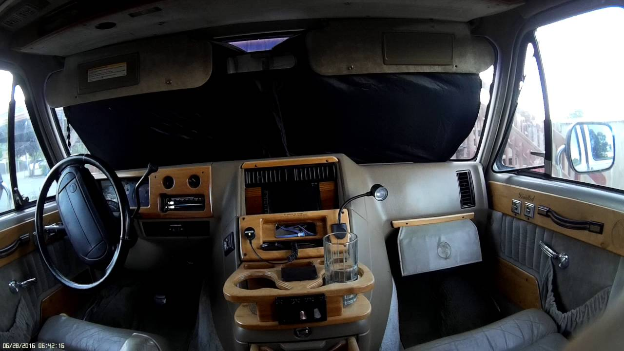 1995 Gmc Vandura Double Din Car Stereo Install 4 Youtube