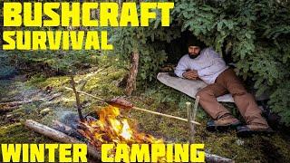 Winter Survival Camping - Bush¢raft - Cooking