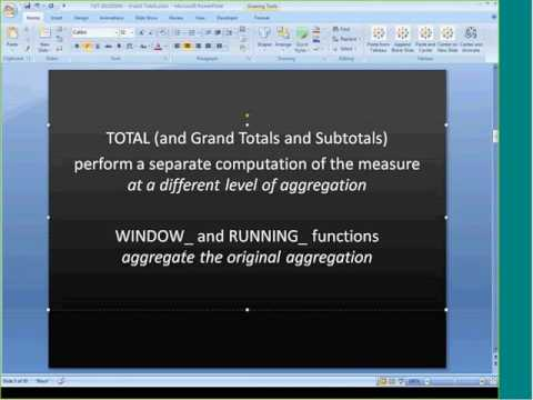 TDT  Grand Totals with Jonathan Drummey HD - May, 2013