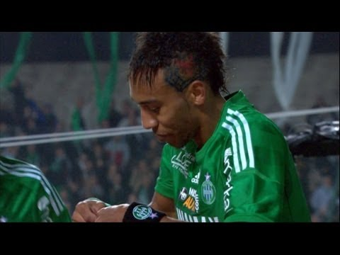 Goal Pierre-Emerick AUBAMEYANG (22') - AS Saint-Etienne - Stade Rennais FC (2-0) / 2012-13