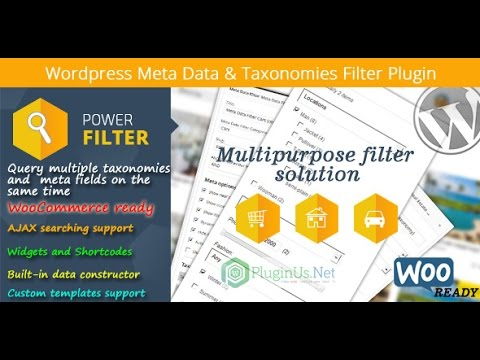 WordPress meta data taxonomies filter mdtf настройка
