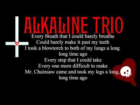 Alkaline Trio - Mr. Chainsaw (Lyrics)