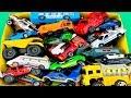 Carros y Camiones de Construcción - Caja de Coches para Niños - Colección de Juguetes Infantiles