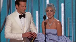 Baixar Lady Gaga - Golden Globes 2019 (Presents The Award & Wins Best Original Song)