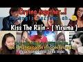 Crying together, Kiss the Rain  Yiruma  Cover guitar fingerstyle, Alip ba ta Teks Indo.