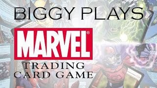 Biggy Plays - Marvel Trading Card Game PSP - Introduction