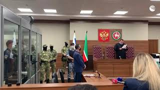 Суд арестовал Галявиева, устроившего стрельбу в казанской школе