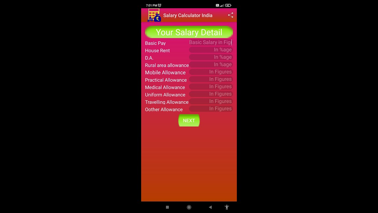 Salary Calculator India  Youtube
