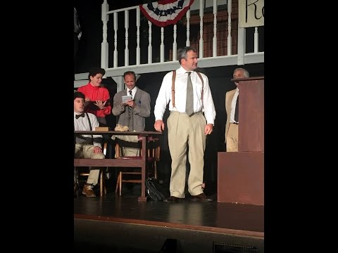 Behind The Scenes: Inherit The Wind - Michael Burns
