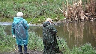 Приколы на рыбалке : БАБУШКИ РЫБАЧКИ поймают рыбу даже в ручье.Fishing 2015(Приколы на рыбалке- http://www.youtube.com/watch?v=sKPzpWLLVoc&list=PLlnybBIMpsjo0tuefzWN5kxUQp2__4okC СПАСИБО ЗА ПОДПИСКУ И ..., 2015-05-23T18:31:20.000Z)