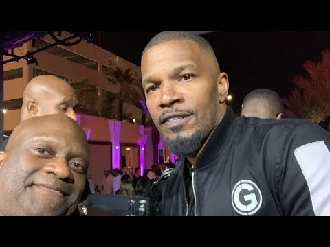 Jamie Foxx Entertains Culinary Kickoff Super Bowl LIV Party Miami Crowd