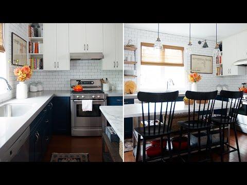 Interior Design — Small Budget Kitchen Makeover