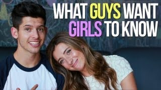 What GUYS WANT GIRLS to KNOW! w/ Lauren Elizabeth - #DearHunter