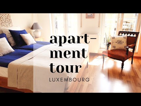 Apartment tour | Rental apartment in Luxembourg and how we have arranged it