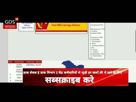 West Bengal GDS RESULT UPDATE:  Shocking Reply from INDIA POST.