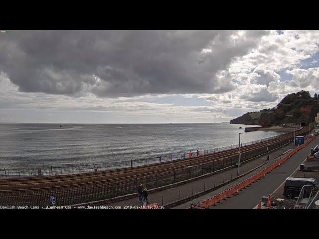 Live UK Beach Cam Dawlish Cam Devon Full HD Live Cam South Devon Railway