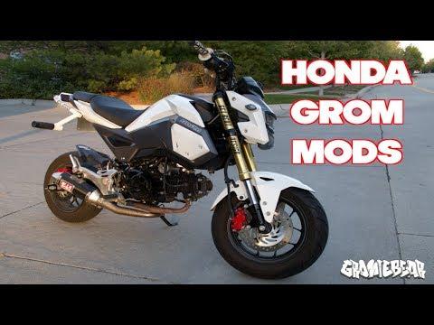 BEST HONDA GROM MODS!