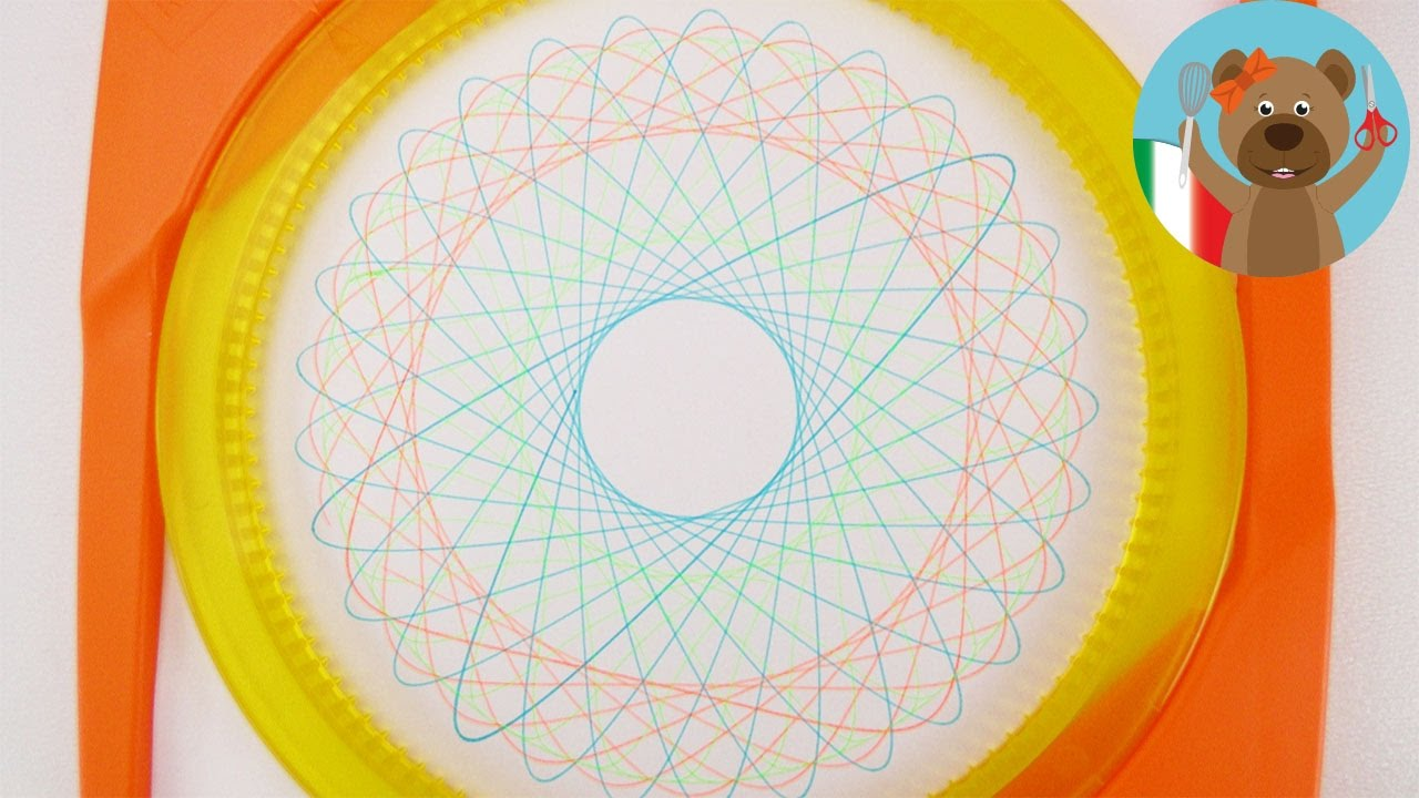 Mandala fai da te con spiral designer disegnare immagini for Fai da te cianografie