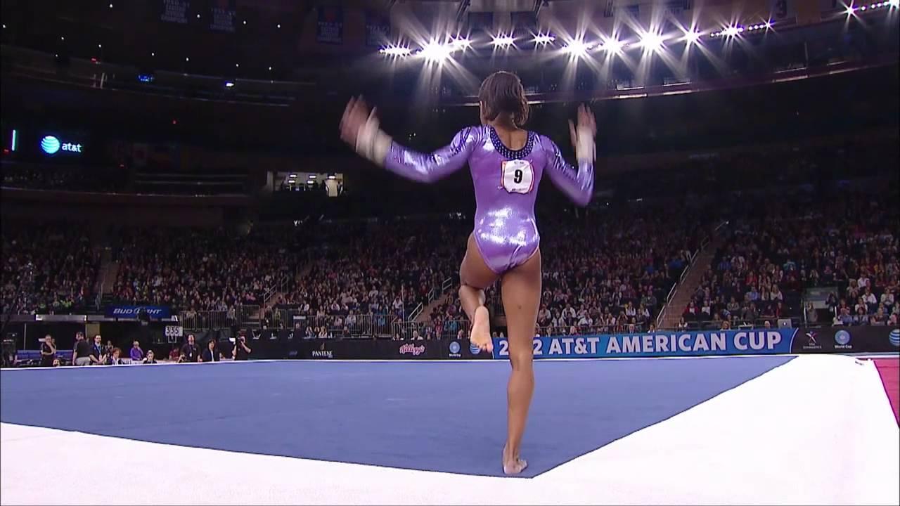 Gabby Douglas  Floor Exercise  2012 ATT American Cup