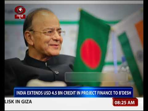 India extends USD 4.5 BN credit in project finance to Bangladesh