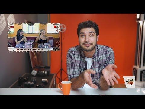 مذيعة تريد أن ترقص على الطاولة في الفضائية السورية   حمصوود شو