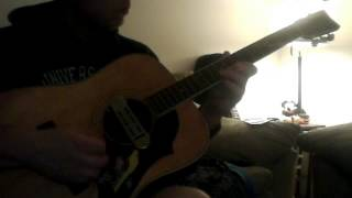 flamenco groove? Getting it with a vintage 70s yamaha fg-201-Dell huseman