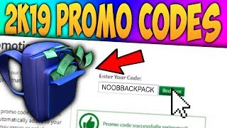 (*NEW*) ALL WORKING ROBLOX PROMO CODES (SEPTEMBER 2019!)