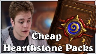 Pay to Win with Reynad - Cheap Hearthstone Packs