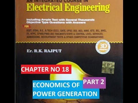 ECONOMICS OF POWER GENERATION !! IMPORTANT MCQs QUESTIONS !! part 2