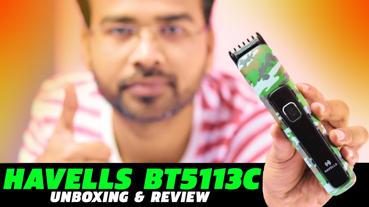 Download HAVELLS BT5113C Trimmer Unboxing and Review | Is it the best trimmer for men under 1000?