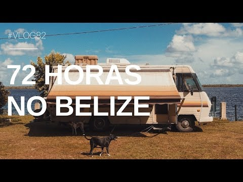 VLOG 082 | SÓ CHOVEU NO BELIZE | MARINA E PEDRO