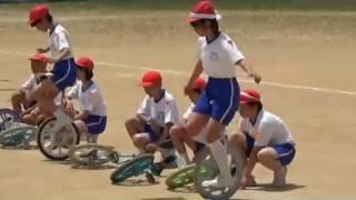 H29一輪車演技(鳴鹿小学校)音声なし