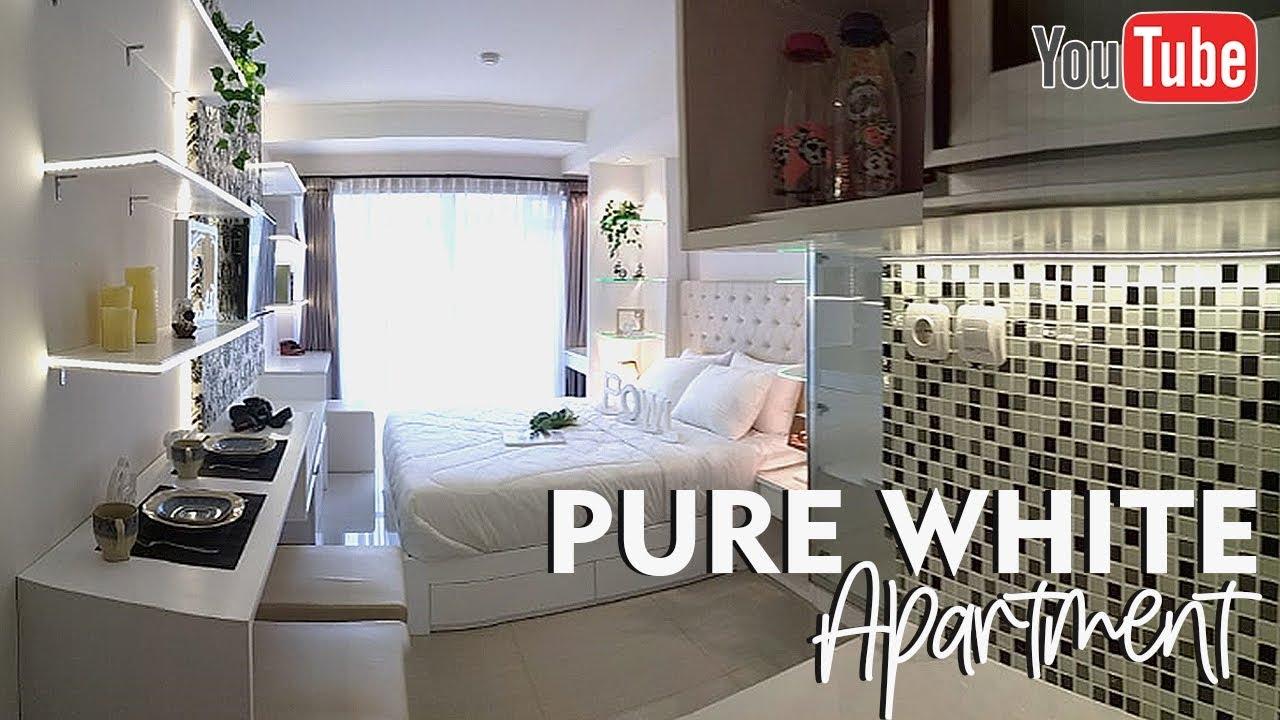 Cool Design Interior Apartment Studio Type Minimalist Style Youtube