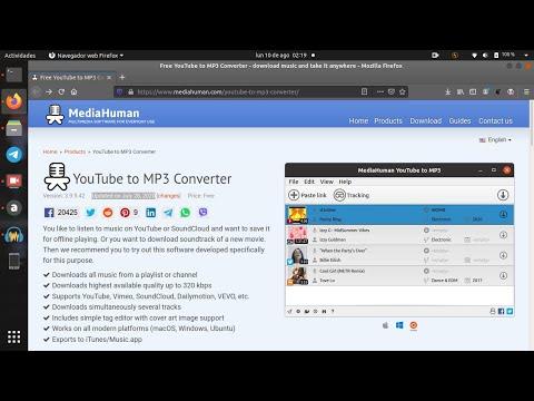 YoutubeToMP3 | Convierte canciones y otros vídeos a mp3 en Ubuntu 20.04
