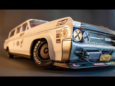 This clever R/C car leans and drifts like it weighs tons, not pounds
