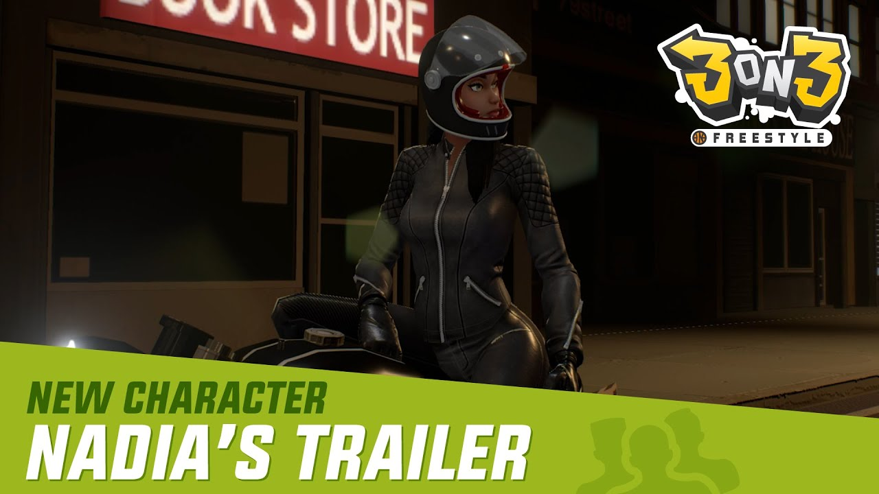 New Character Update Full Teaser: Nadia | 3on3 FreeStyle