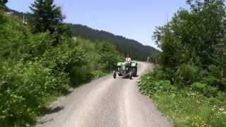 Maishofen Original Oldtimer Traktor  Sound, Mit dem Traktor über die Berge der Alpen von Österreich