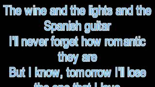 Sarah Connor & Marc Terenzi - Just One Last Dance Lyrics - N.J