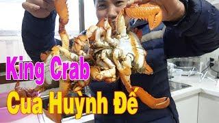 Ăn cua Huỳnh đế ( King Crab) Food and Travel