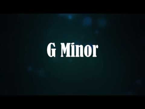 Epic Guitar Backing Track in G Minor