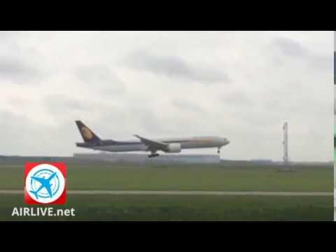 Jet Airways #9W234 returned to Amsterdam after pressurization problem