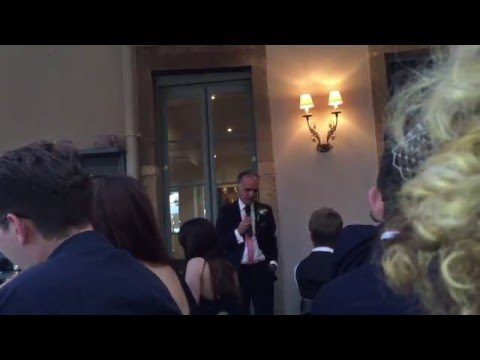 Best Father of Bride speech at Babington House