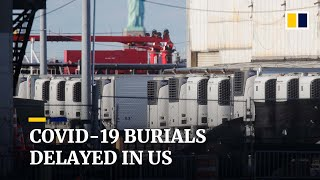 Bodies of Covid-19 victims in New York stored in refrigerated trucks months after death