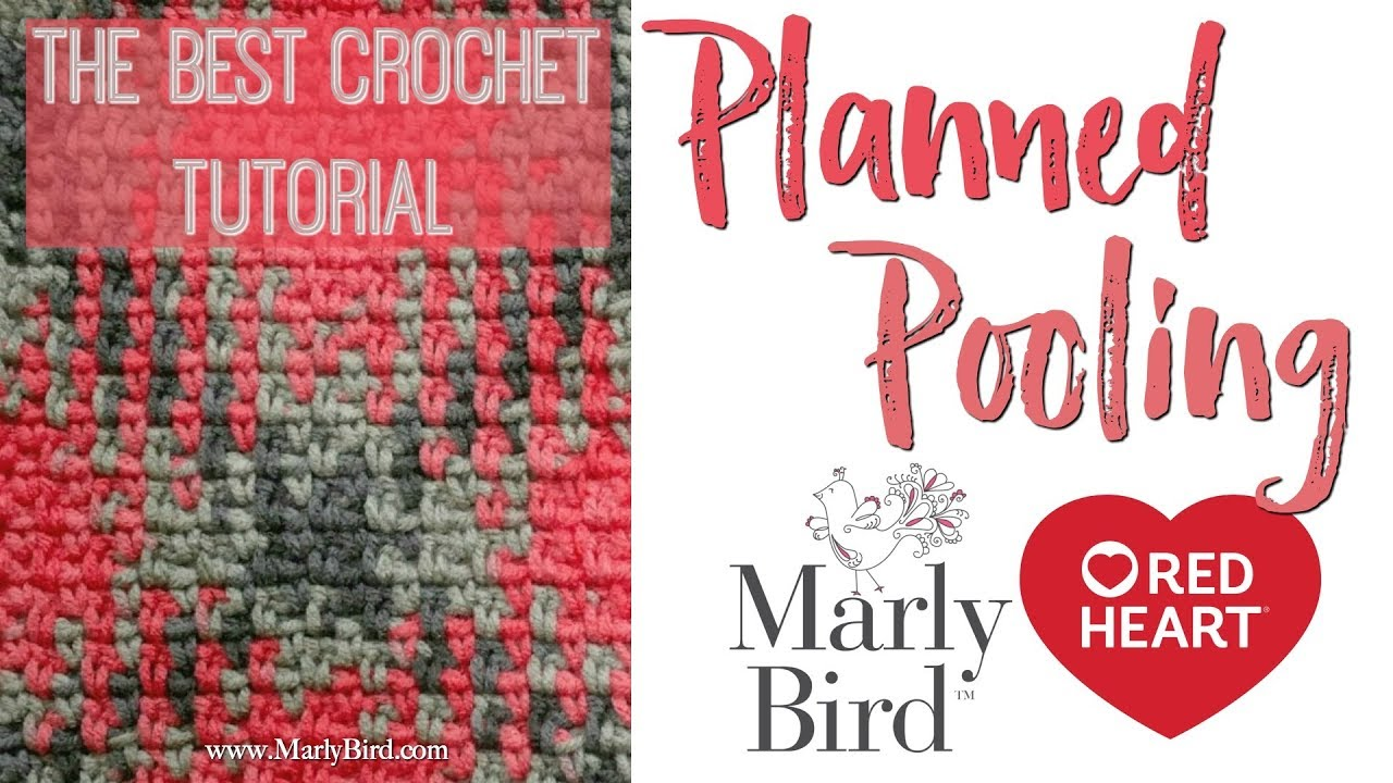 The Best Crochet Planned Pooling Tutorial Youtube
