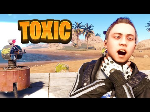 MEET The Most TOXIC Trap Base Ever!! Rust